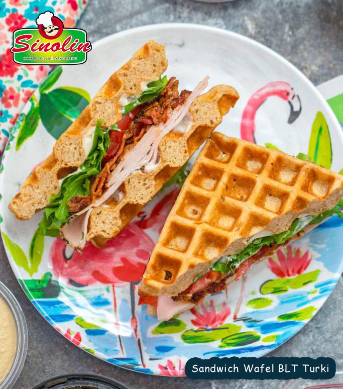 Sandwich Wafel Oleh Dapur Sinolin