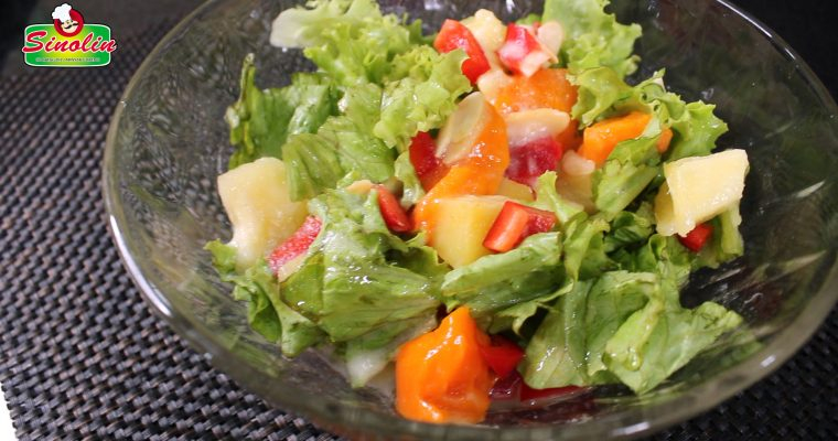 Grilled Mango & Pineapple Salad  By Dapur Sinolin