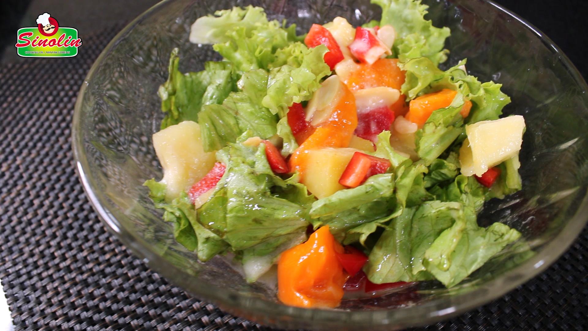 Mangga Panggang & Salad Nanas