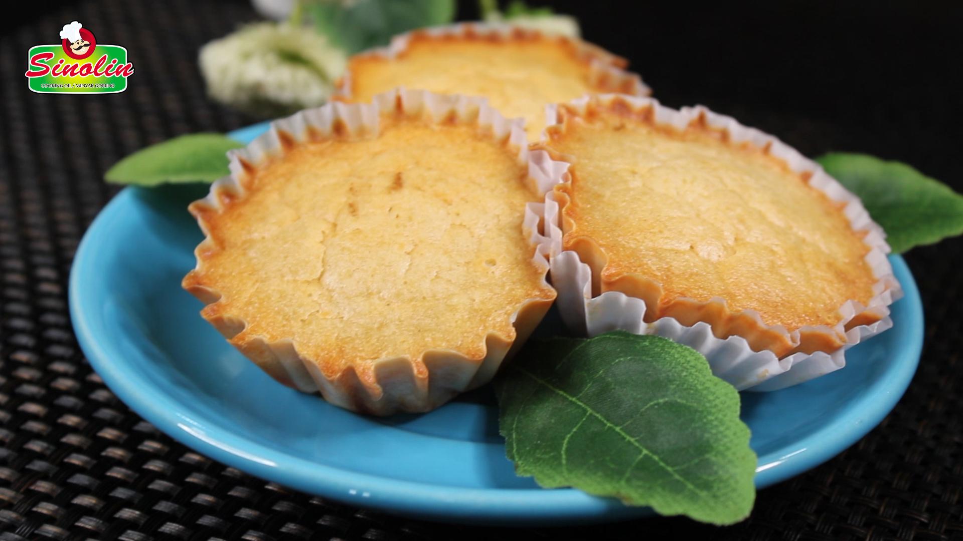 Muffin nanas Oleh Dapur Sinolin