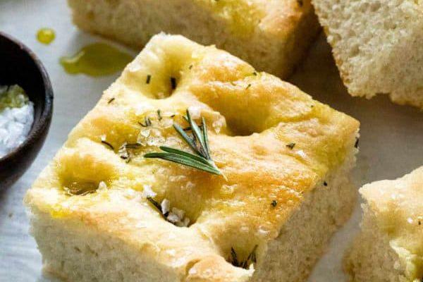 Roti Rosemary Focaccia Oleh Dapur Sinolin