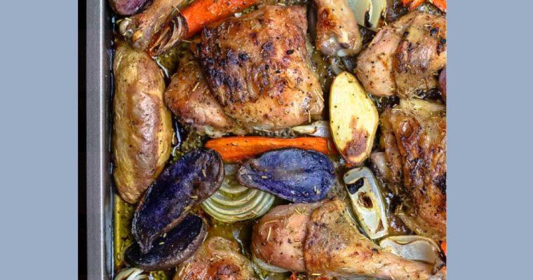 Resep Ayam Panggang Rosemary Dengan Sayuran Oleh Dapur Sinolin