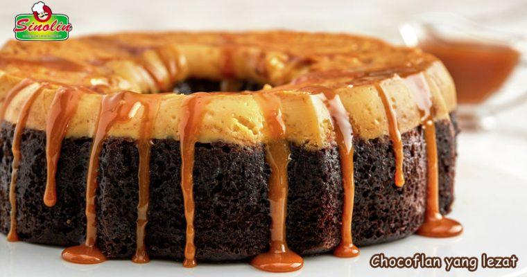 Chocoflan yang lezat Oleh Dapur Sinolin