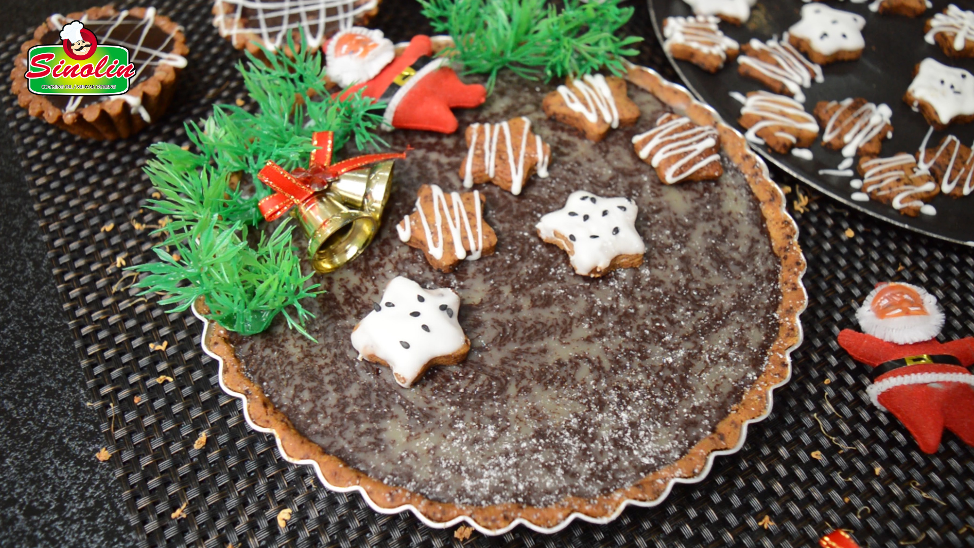 Gingerbread Espresso Chocolate Tart By Dapur Sinolin