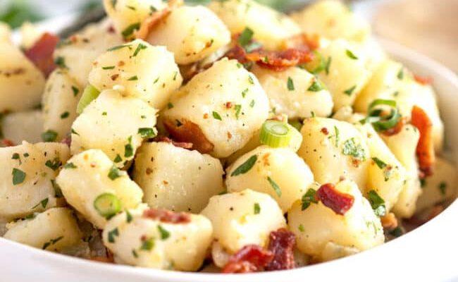 Resep Salad Kentang Jerman Oleh Dapur Sinolin