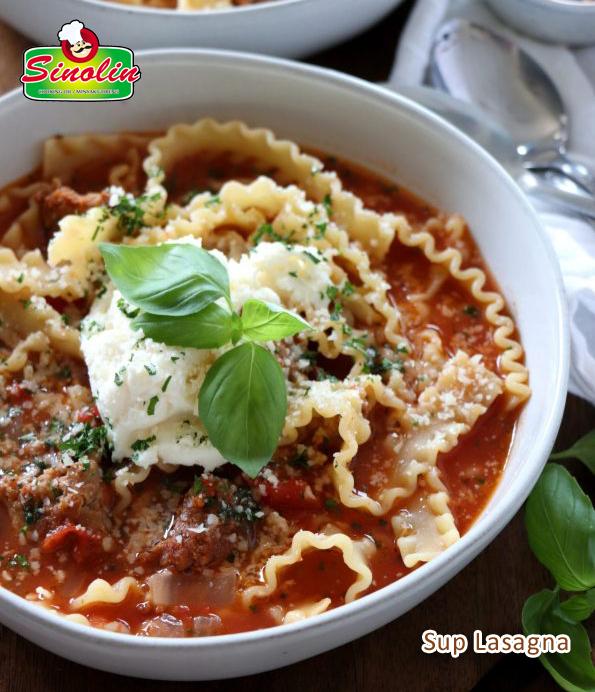 Lasagna Soup By Dapur Sinolin