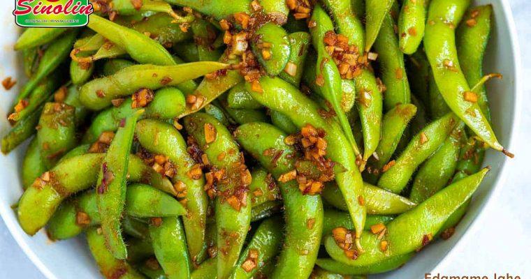 Spicy Garlic Ginger Edamame | Dapur Sinolin