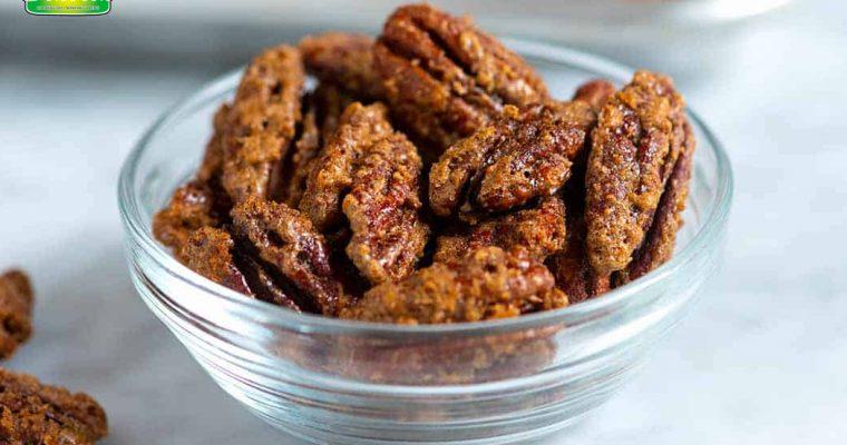 Crisp and Crunchy Candied Pecans | Dapur Sinolin
