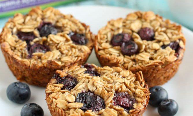 Blueberry Oatmeal Panggang | Dapur Sinolin