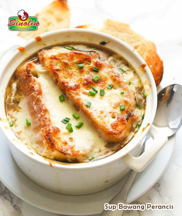 Sup Bawang Perancis | Dapur Sinolin