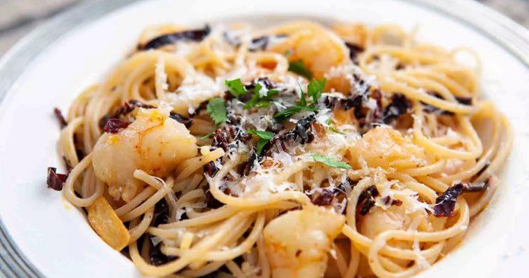 Ancho Chile, Shrimp, dan Pasta | Dapur Sinolin