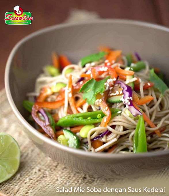 Salad Mie Soba dengan Saus Kedelai | Dapur Sinolin