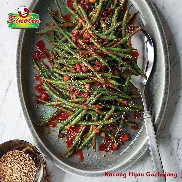 Kacang Hijau Gochujang | Dapur Sinolin