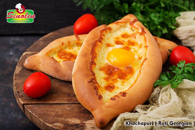 Khachapuri ( Roti Georgian ) | Dapur Sinolin