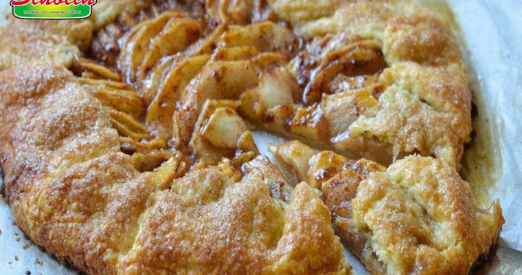 Tart Apel Prancis Pedesaan   Dapur Sinolin